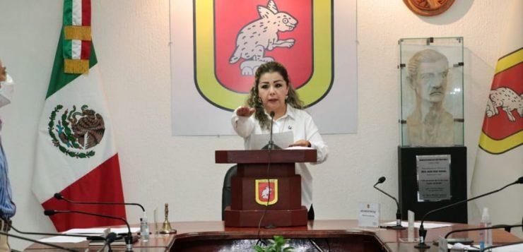 Karla Burguete asume el cargo de presidenta interina de Tuxtla Gutiérrez