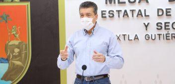 Llegaron hoy a Chiapas 121 mil 600 vacunas: Rutilio Escandón