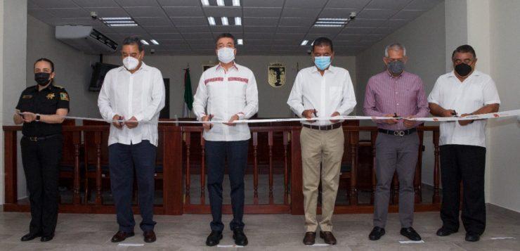 Inauguran Juzgado Especializado en Materia Laboral en Tuxtla