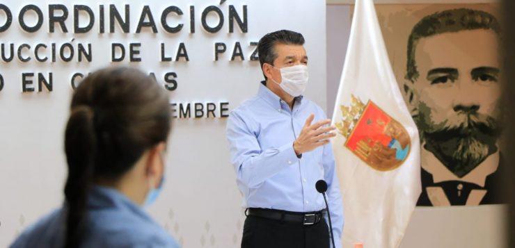 Mediante brigadas de vacunación, avanza protección anticovid: Rutilio Escandón