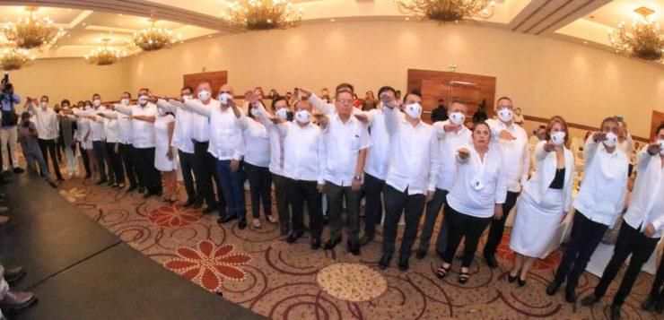 Junto al sector empresarial, impulsamos el progreso de Chiapas: Rutilio Escandón